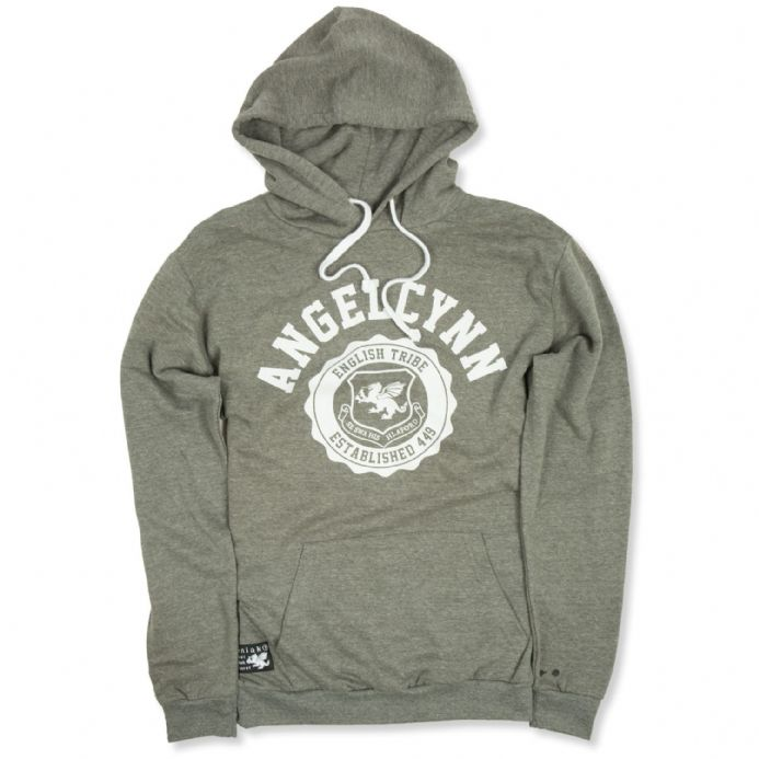 Angelcynn Hooded Sweatshirt - Heather Grey
